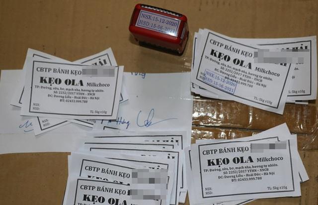 Phù phép gần 1 tấn kẹo hết đát để cung ứng cho thị trường Tết - 2
