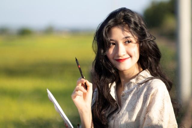 Nữ sinh ĐH Nha Trang đẹp tựa diễn viên Hoa ngữ - 7