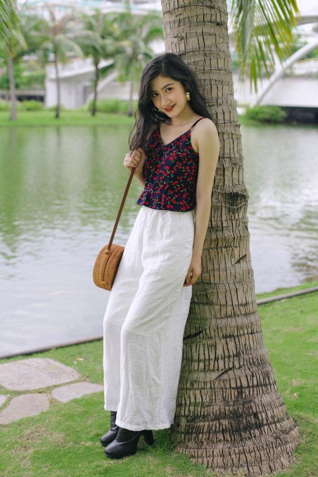 Nữ sinh ĐH Nha Trang đẹp tựa diễn viên Hoa ngữ - 17