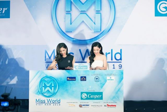 Casper tiếp tục đồng hành cùng Miss World Vietnam - 1