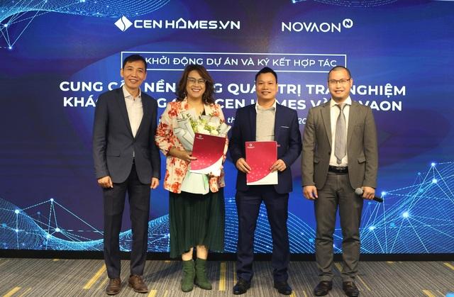 NOVAON cung cấp giải pháp Quản trị trải nghiệm khách hàng cho Cen Homes - 1
