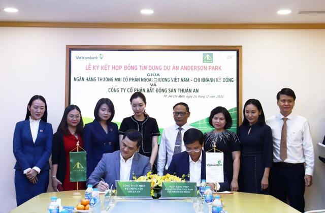 Chủ đầu tư Anderson Park ký kết Hợp đồng Tín dụng với Vietcombank - 1