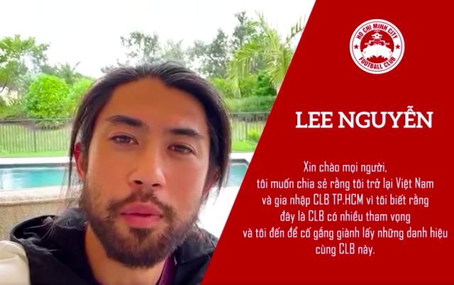 Lee Nguyễn lần đầu chia sẻ về quyết định trở lại V-League - 1