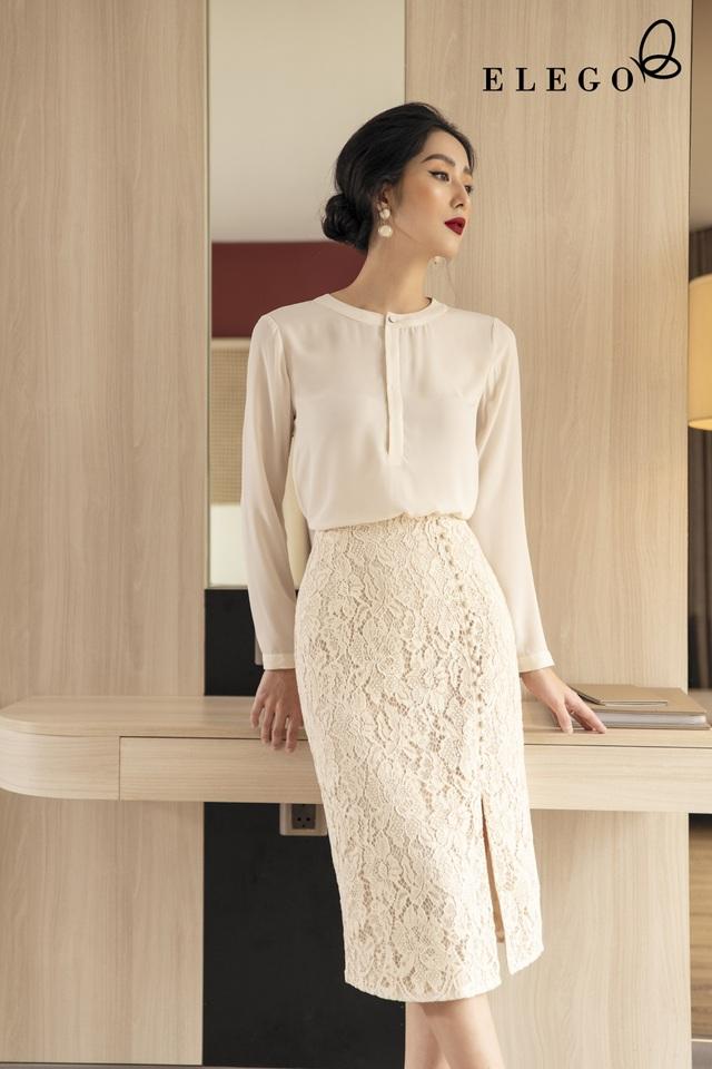 Sang chảnh với ren từ thương hiệu thời trang cao cấp ELEGO - 2