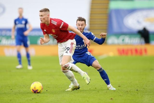 Hàng thủ lỏng lẻo, Man Utd tuột chiến thắng trước Leicester - 5