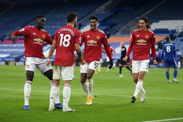 Hàng thủ lỏng lẻo, Man Utd tuột chiến thắng trước Leicester - 16