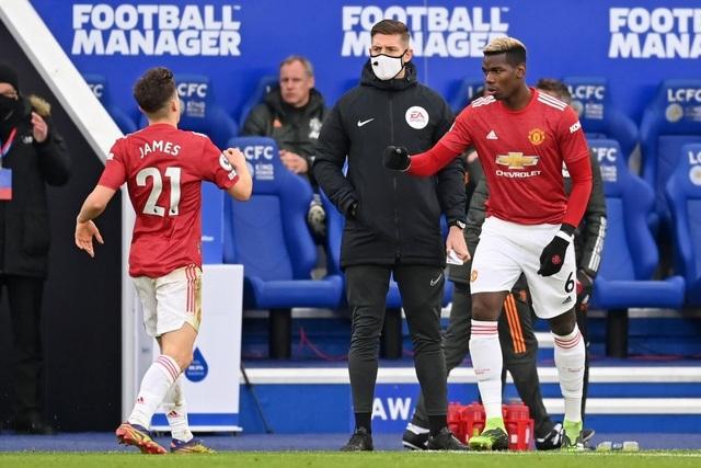 Hàng thủ lỏng lẻo, Man Utd tuột chiến thắng trước Leicester - 10