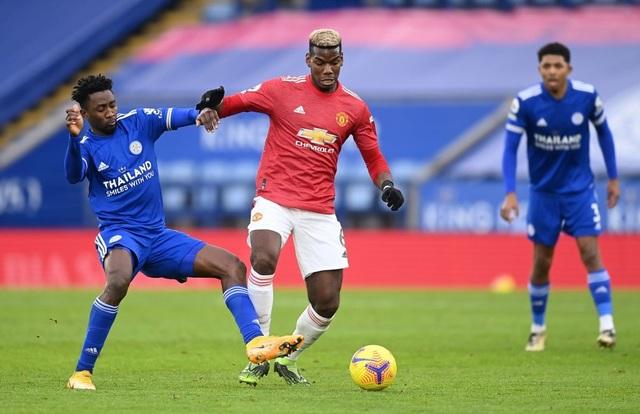 Hàng thủ lỏng lẻo, Man Utd tuột chiến thắng trước Leicester - 11