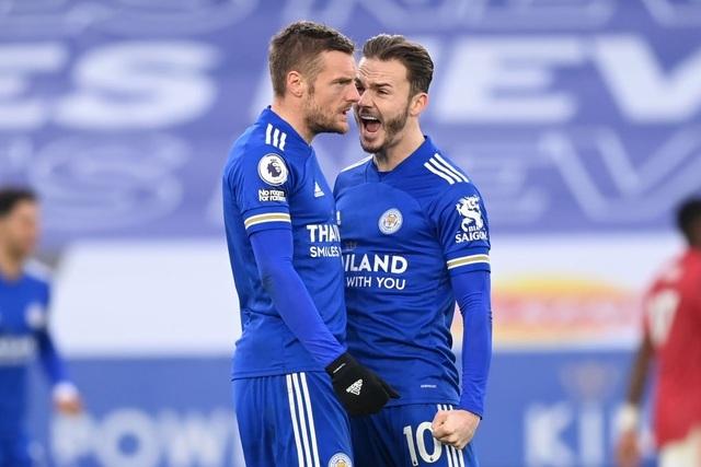 Hàng thủ lỏng lẻo, Man Utd tuột chiến thắng trước Leicester - 18