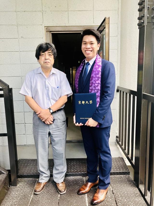 Tiến sĩ trẻ Huỳnh Tấn Lợi và ước muốn cống hiến trong ngành Môi trường - 1
