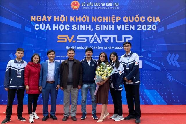 Nữ sinh xứ Nghệ ẵm giải khởi nghiệp nhờ dự án thảo mộc bảo vệ rau, hoa màu - 2