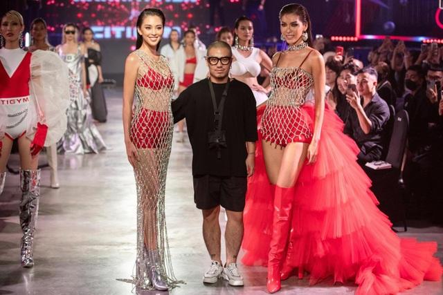 Tiểu Vy, Minh Tú mặc váy xuyên thấu, khoe hình thể trong BST Miss Fitness - 3