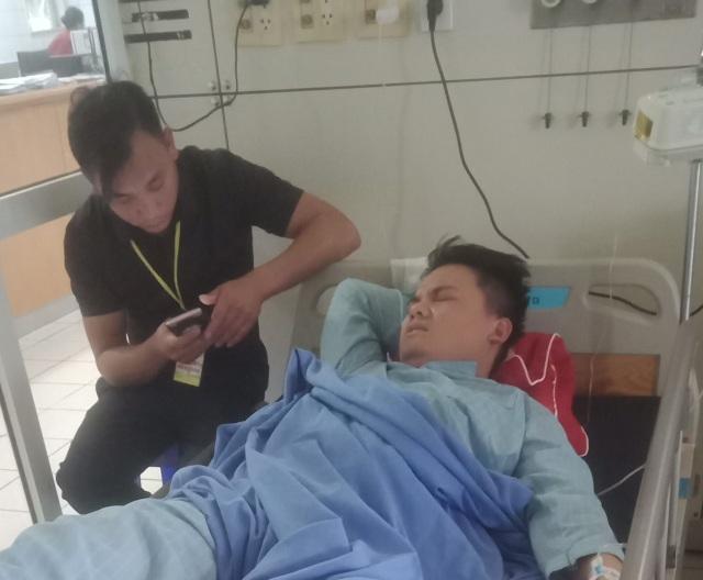 Một trinh sát bị thương khi vật lộn với tội phạm ma túy - 2