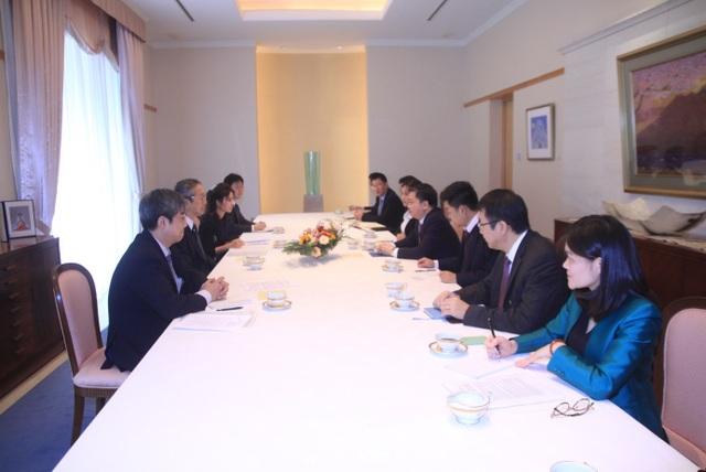 Chủ tịch HĐQT VietinBank gặp mặt song phương với Đại sứ Nhật Bản tại Việt Nam - 1