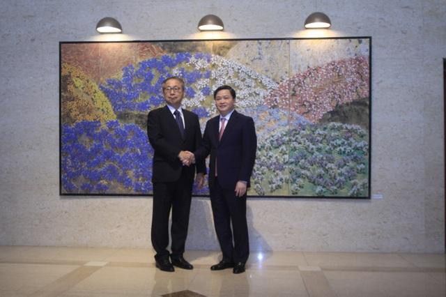 Chủ tịch HĐQT VietinBank gặp mặt song phương với Đại sứ Nhật Bản tại Việt Nam - 2