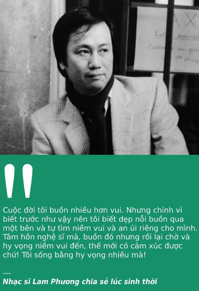 Trong những ngày cuối cùng của năm 2020, vĩnh biệt nhạc sĩ Lam Phương! - 1