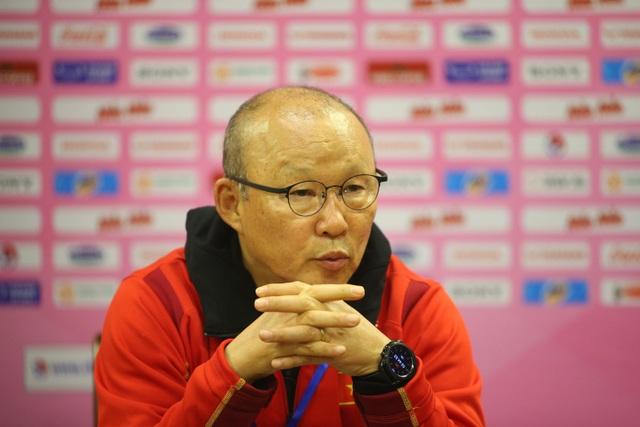 HLV Park Hang Seo: Đội tuyển Việt Nam thua 2 bàn không phải là vấn đề - 1