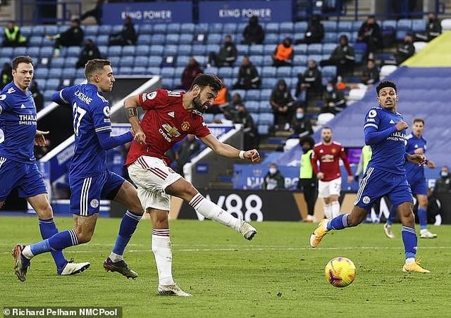 Bruno Fernandes nói điều an ủi sau khi bị Leicester cầm hòa đáng tiếc - 1