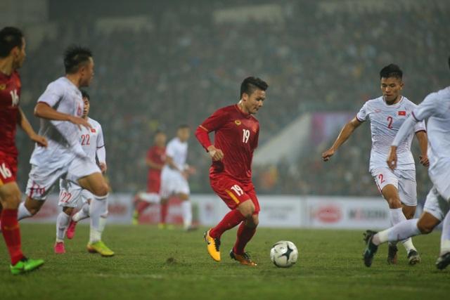 Quang Hải: Các tân binh đang hòa nhập tốt với đội tuyển - 2