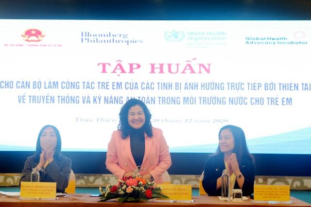 Thứ trưởng Nguyễn Thị Hà: Trẻ em cần được an toàn trong môi trường nước - 1