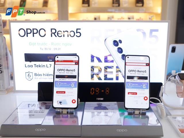 Đặt trước OPPO Reno5, FPT Shop tặng loa bluetooth trị giá  1,29 triệu đồng - 2