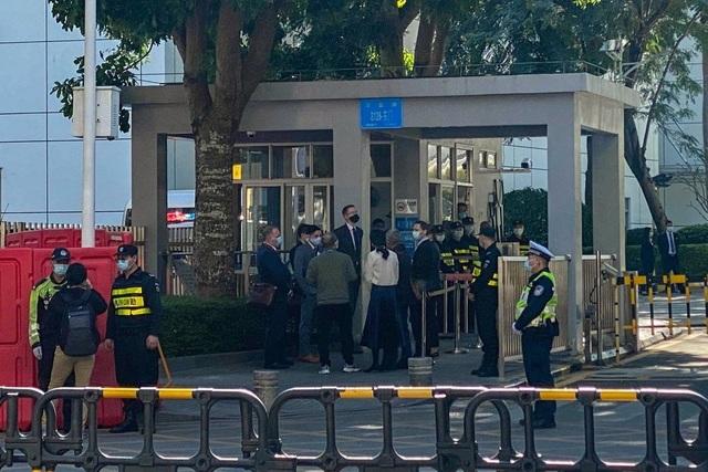 Phiên tòa tại Trung Quốc thu hút sự chú ý của các nhà ngoại giao phương Tây  - 1