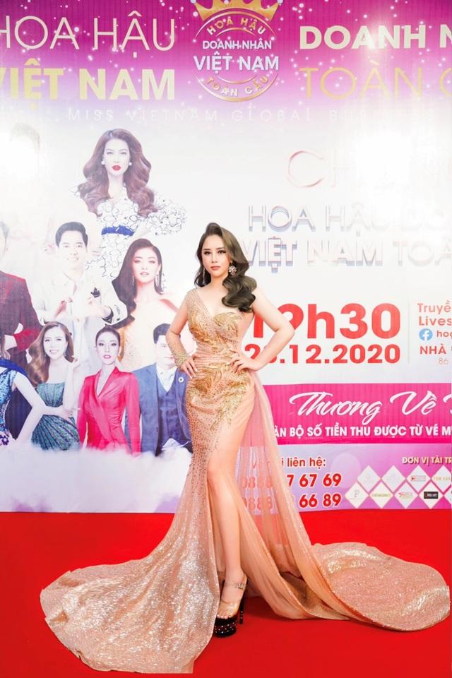 Hoa hậu Hoàng Thị Thảo Nguyên khoe sắc tại CK Hoa hậu Doanh nhân Việt Nam Toàn cầu 2020 - 3