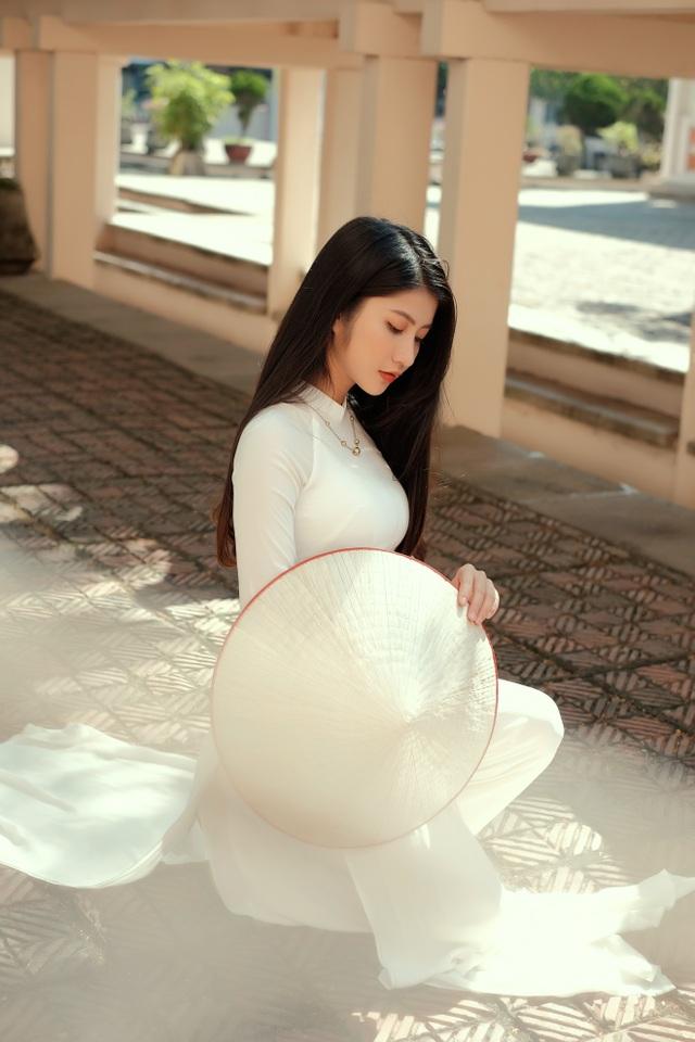 Nét duyên thầm gieo thương nhớ của thiếu nữ Ninh Bình trong tà áo dài - 4