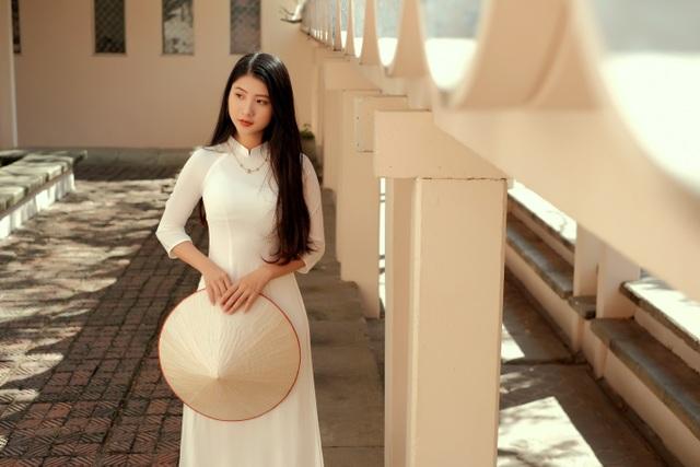 Nét duyên thầm gieo thương nhớ của thiếu nữ Ninh Bình trong tà áo dài - 6