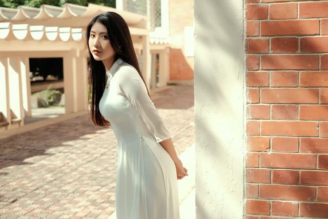 Nét duyên thầm gieo thương nhớ của thiếu nữ Ninh Bình trong tà áo dài - 8