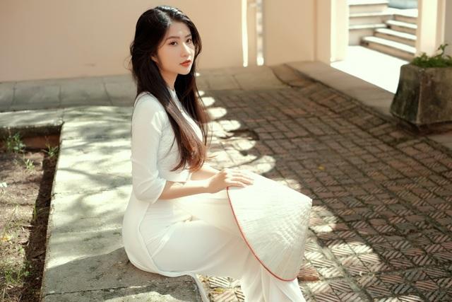Nét duyên thầm gieo thương nhớ của thiếu nữ Ninh Bình trong tà áo dài - 10