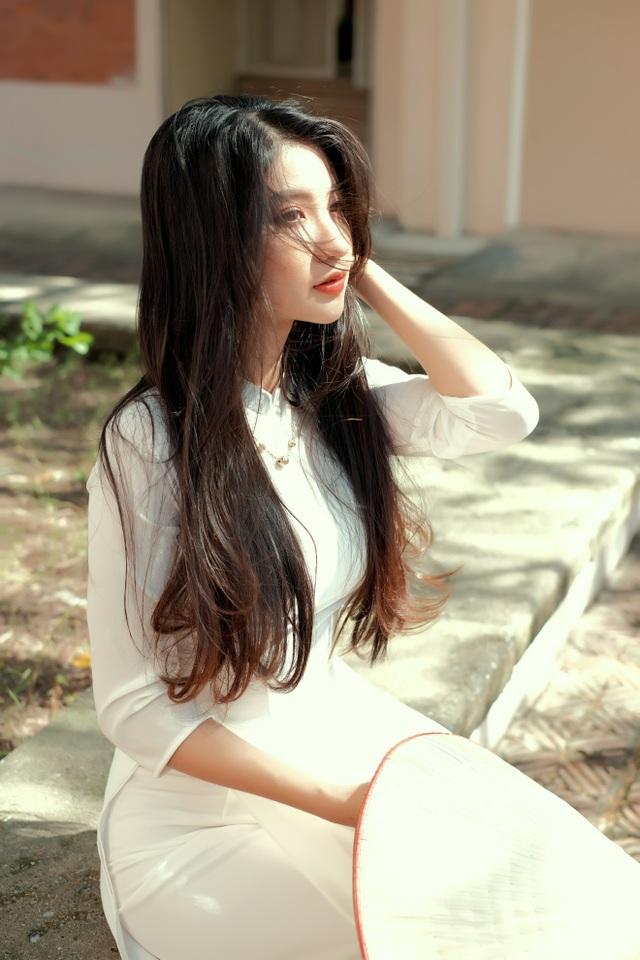 Nét duyên thầm gieo thương nhớ của thiếu nữ Ninh Bình trong tà áo dài - 12