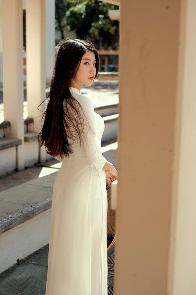 Nét duyên thầm gieo thương nhớ của thiếu nữ Ninh Bình trong tà áo dài - 14
