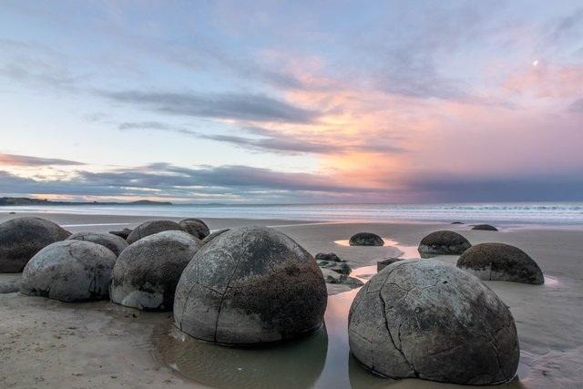 Những quả trứng khổng lồ với nhiều vết tích bí ẩn xuất hiện trên bãi biển - 1