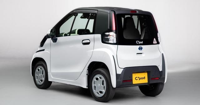 Toyota C+pod gây ấn tượng vì sự tiện dụng, nhỏ gọn - 5