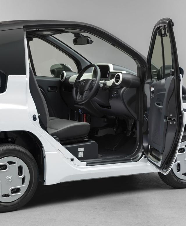 Toyota C+pod gây ấn tượng vì sự tiện dụng, nhỏ gọn - 8