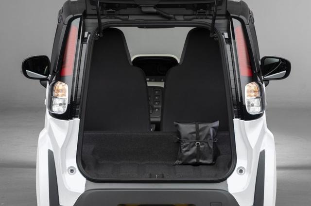 Toyota C+pod gây ấn tượng vì sự tiện dụng, nhỏ gọn - 11
