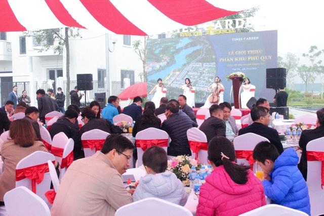 Bùng nổ giao dịch trong Lễ giới thiệu phân khu Phú Quý Times Garden Vĩnh Yên Residences - 1