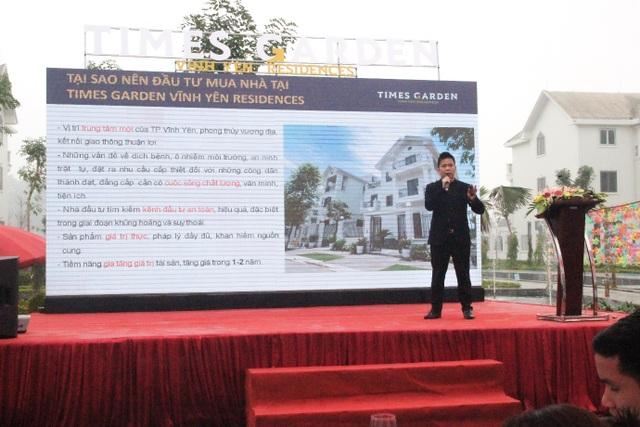 Bùng nổ giao dịch trong Lễ giới thiệu phân khu Phú Quý Times Garden Vĩnh Yên Residences - 2
