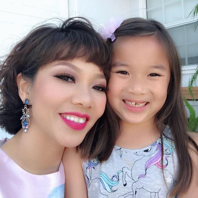 Diva Trần Thu Hà từng chạnh lòng khi con gái không gần gũi mẹ - 2