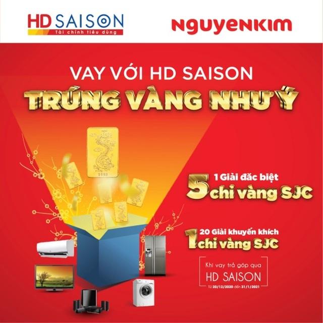 HD SAISON tặng vàng cho khách hàng - 2