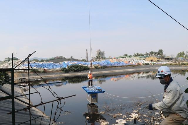 Chính thức thí điểm khử mùi bãi rác Nam Sơn bằng công nghệ Nhật Bản - 2