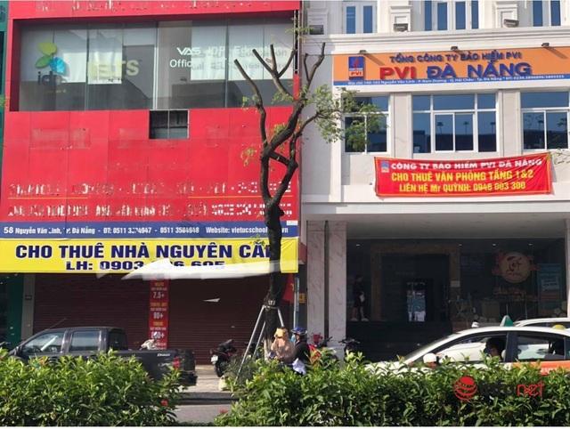 Nhà mặt phố giá thuê trăm triệu đồng/tháng ở Đà Nẵng vẫn cố thủ, giảm nhỏ giọt - 1