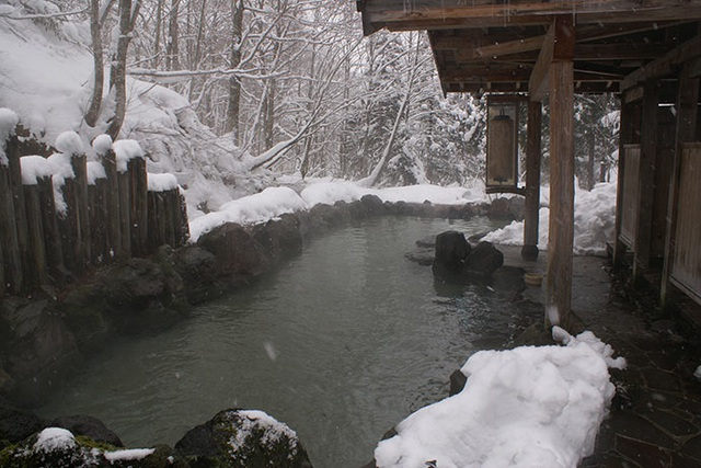 Trải nghiệm tắm onsen tại 7 nhà trọ độc đáo ở Nyuto - 4