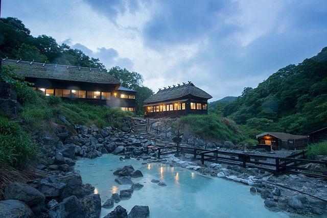 Trải nghiệm tắm onsen tại 7 nhà trọ độc đáo ở Nyuto - 7