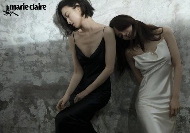 Khoảnh khắc tình tứ và gợi cảm của hai chị đẹp Lưu Thi và Nghê Ni - 8