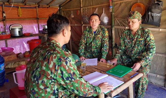Bộ đội Biên phòng đón tết nơi biên giới canh người nhập cảnh trái phép - 2