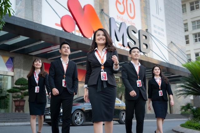 MSB thông báo ngày chốt danh sách cổ đông hưởng quyền mua cổ phiếu quỹ - 1