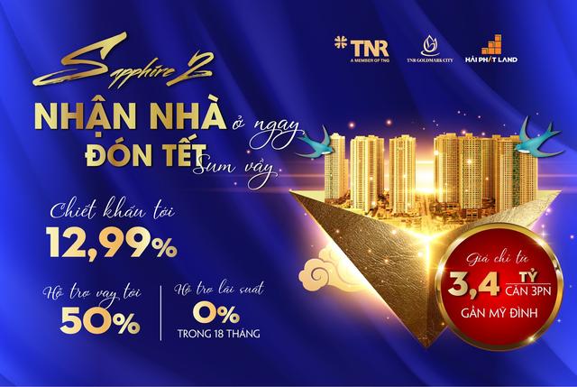 TNR Goldmark City ăn điểm tại thị trường chung cư cuối năm nhờ chính sách tốt - 3