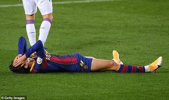 Barcelona hòa thất vọng trong ngày vắng Messi - 3